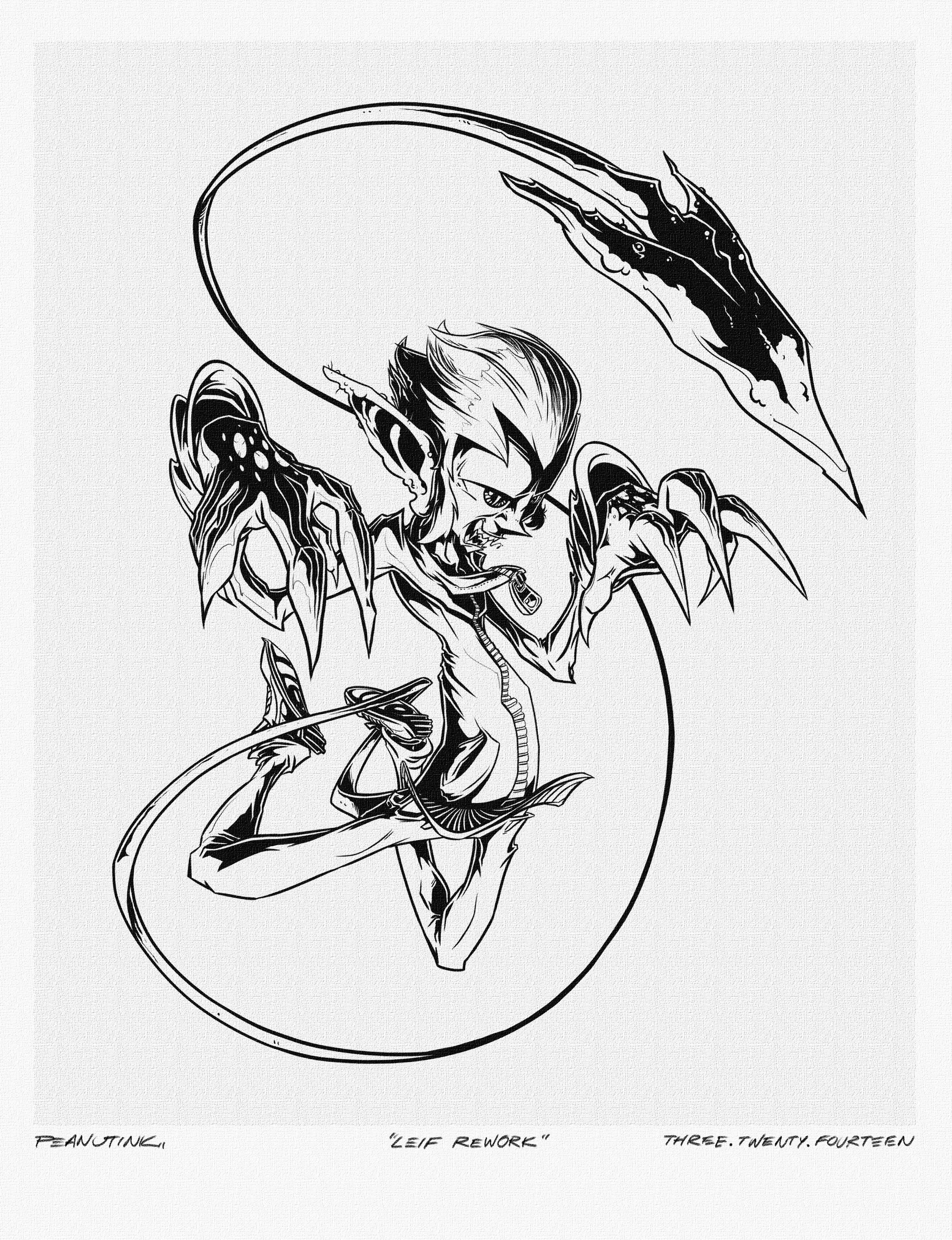 """...weekly ink #11 - """"leif rework""""..."""
