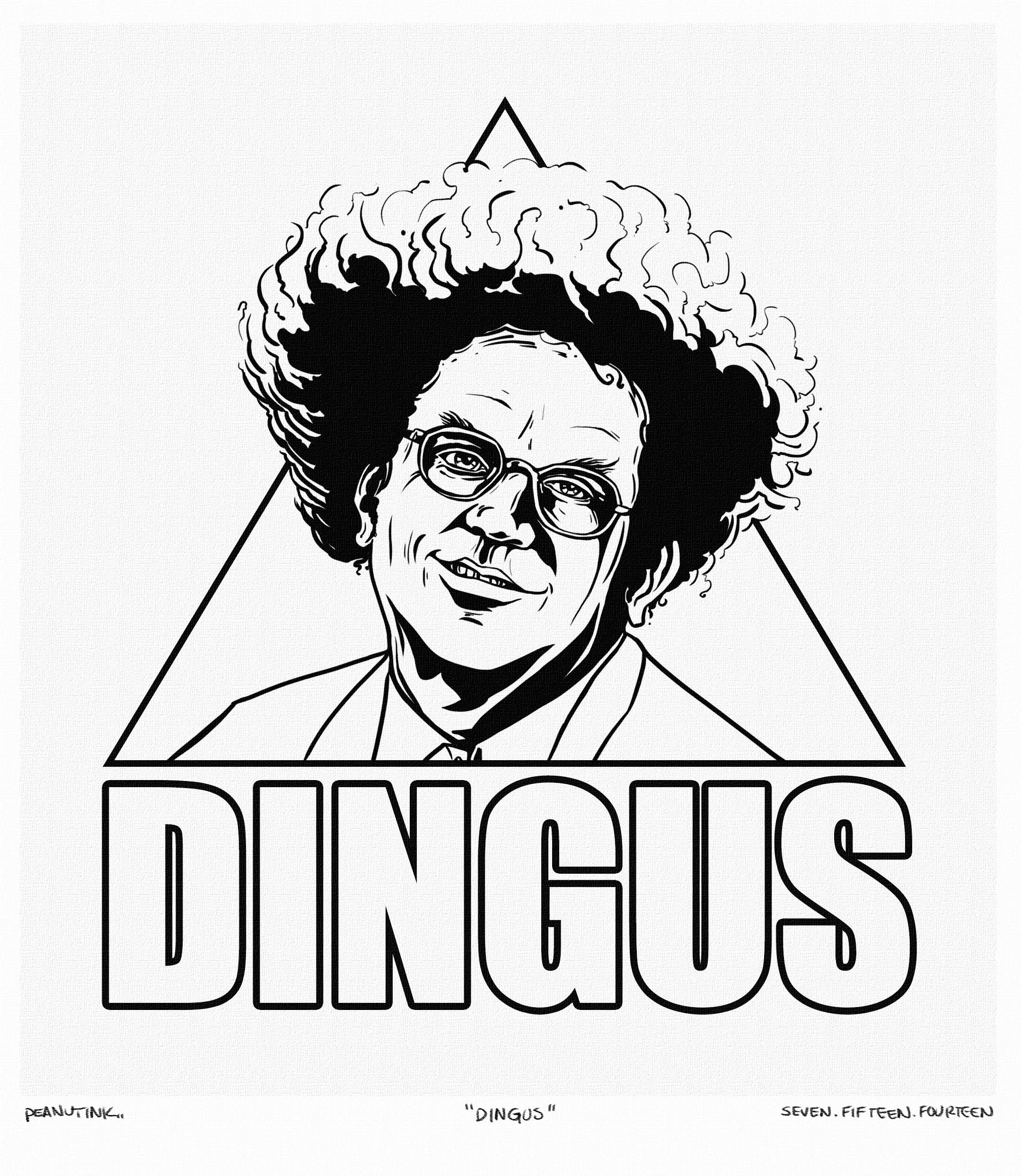 """...the weekly ink #27 - """"dingus""""..."""