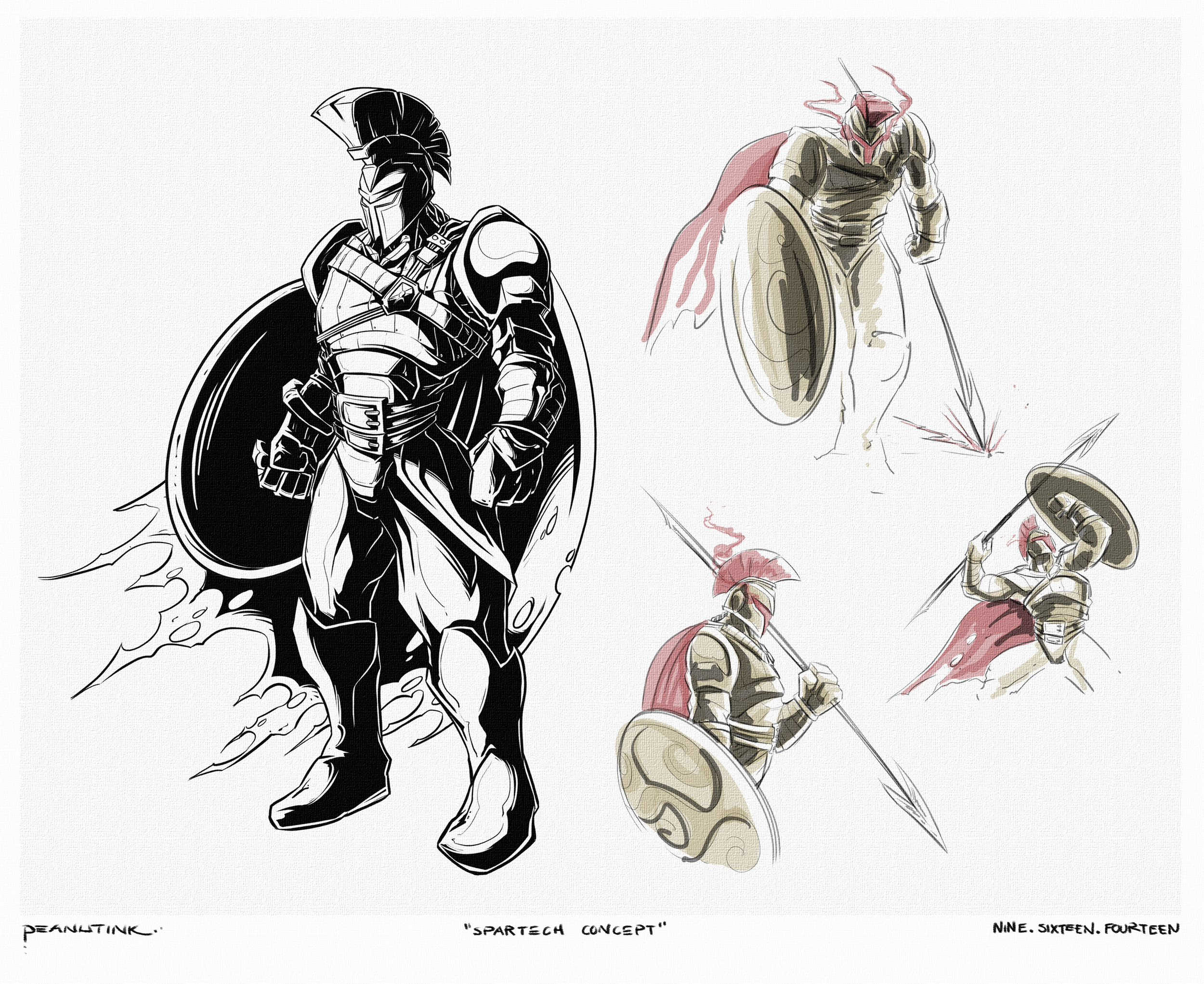 """...weekly ink #36 - """"spartech concept"""""""