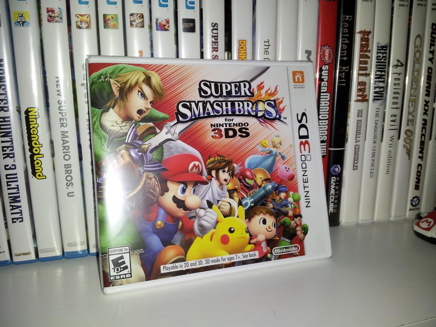 ...smash bros for nintendo 3DS...