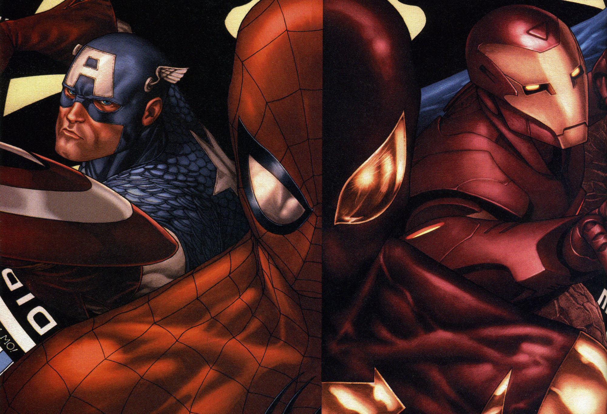 ...which ultimately means spidey, with his integral role in the Civil War comics storyline, will be making his debut in the third Captain America film...