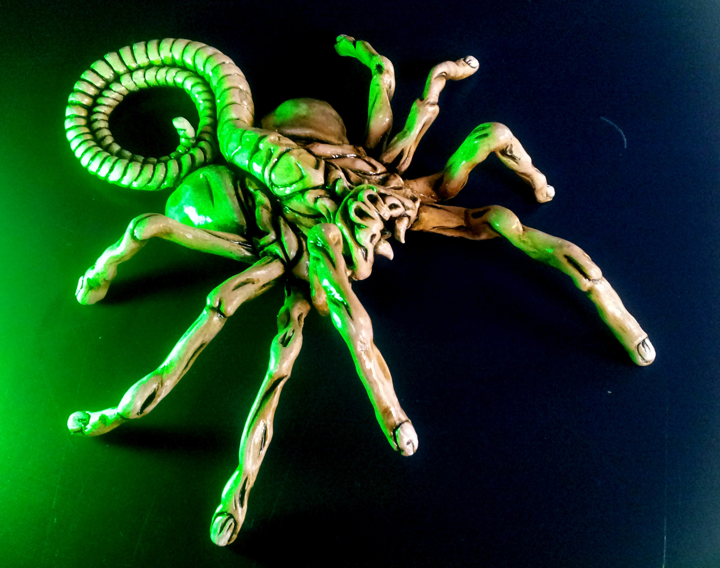...Alien facehugger sculpture i did a couple years ago...