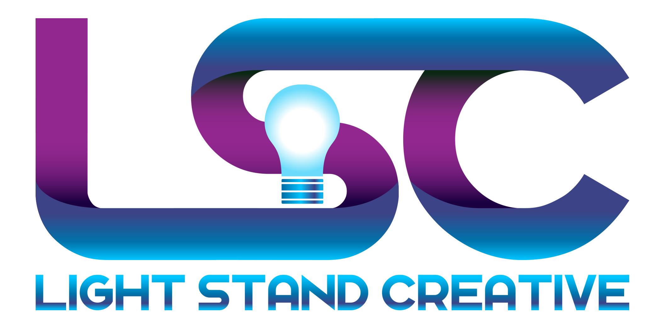 ...light stand creative logo...