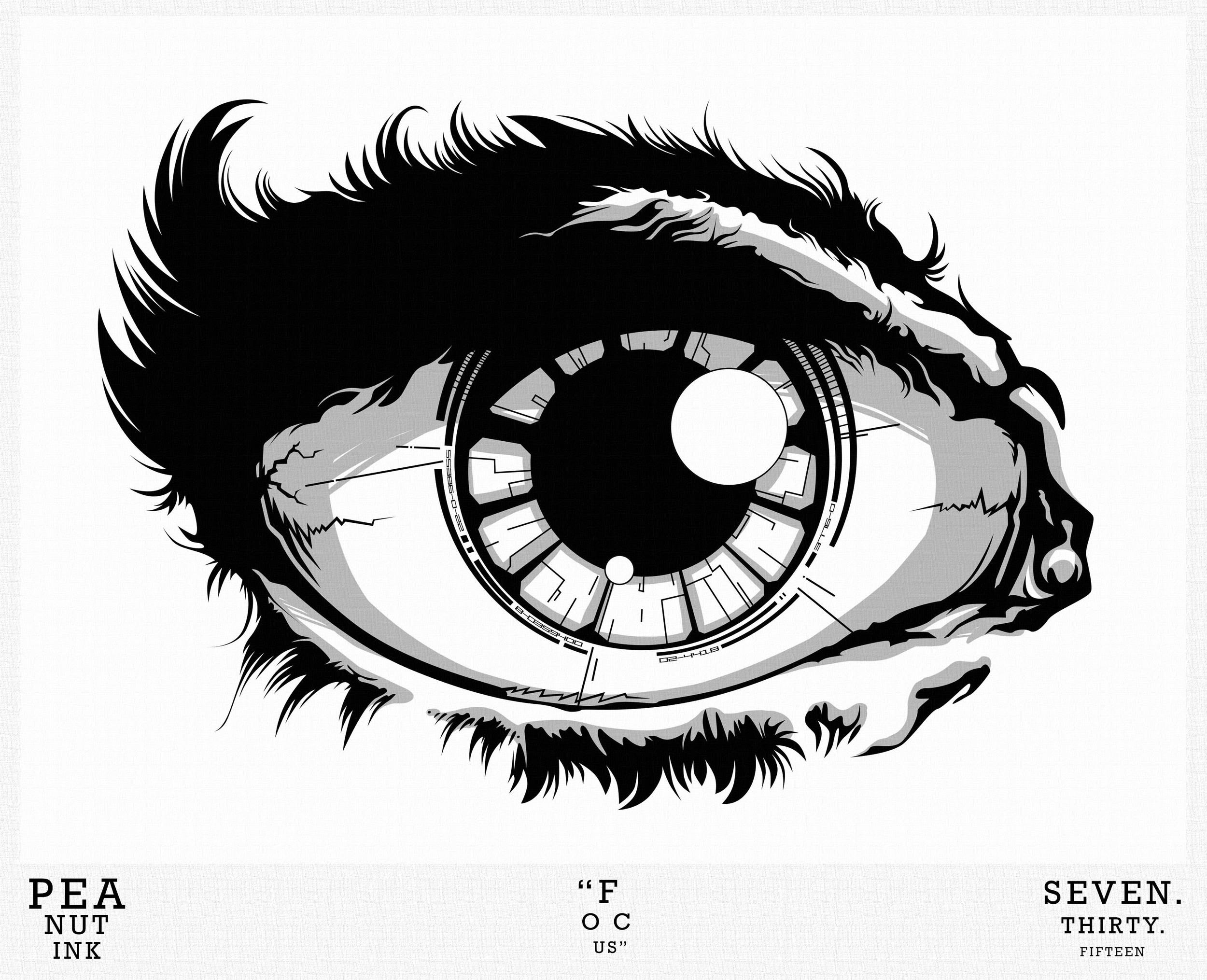 """...weekly ink #80 - """"focus""""..."""