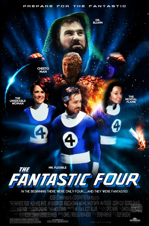 ...the fantastic four movie poster mock up...