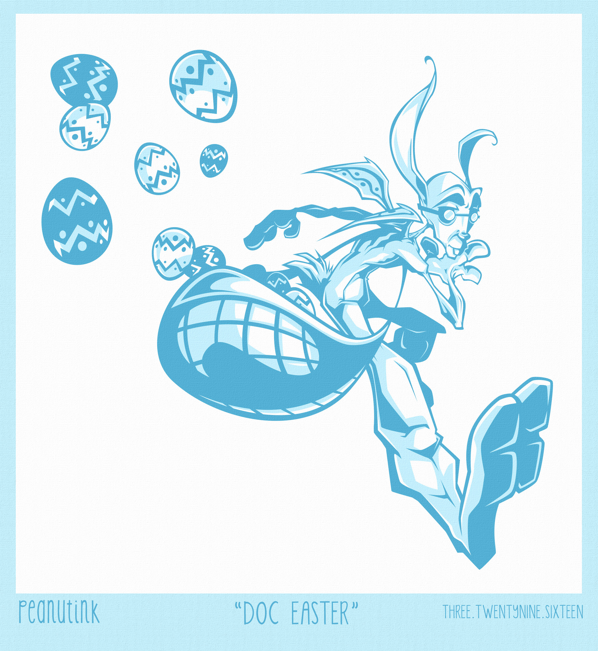 """..weekly ink #115 - """"Doc Easter""""..."""