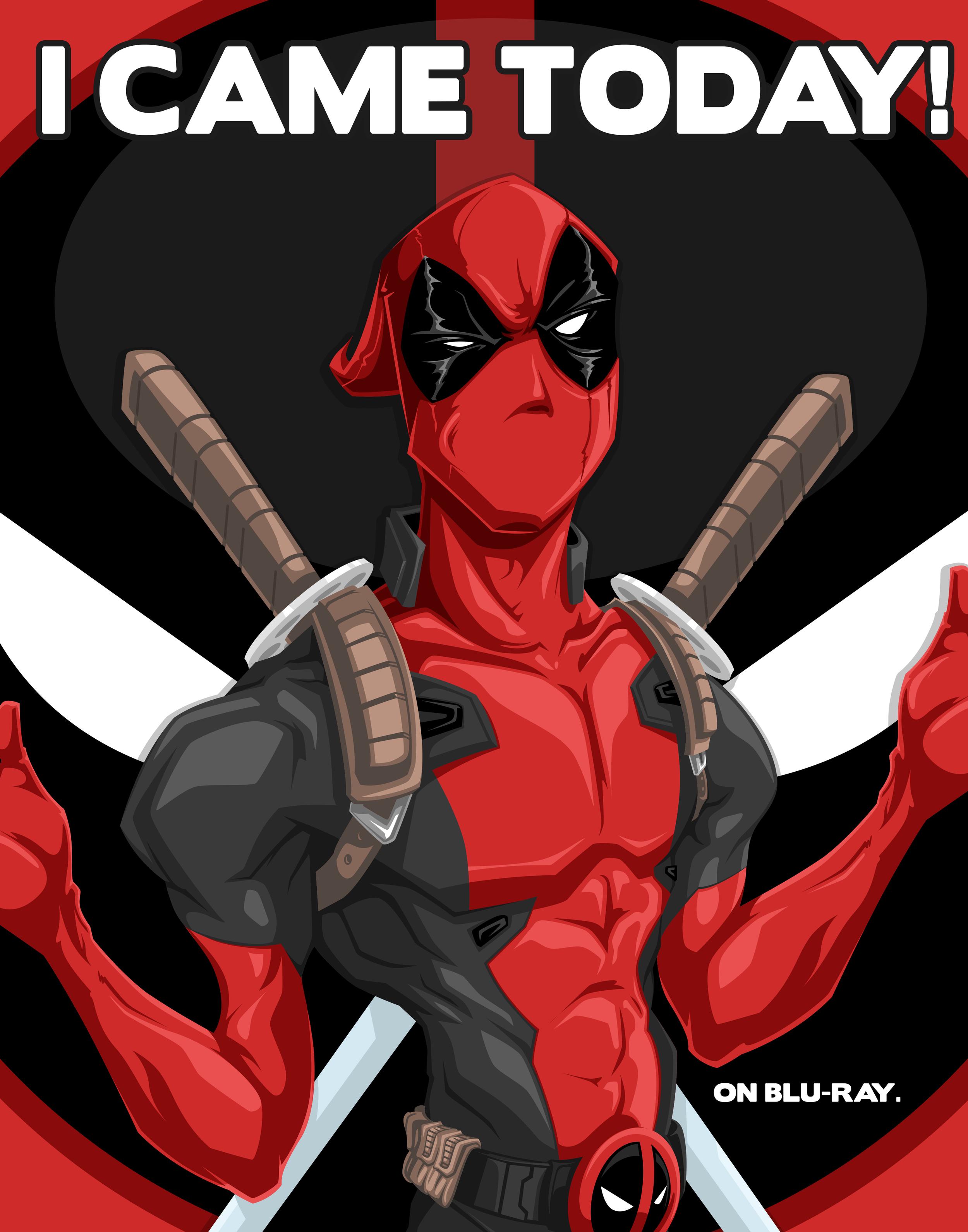 Deadpool bluray release..
