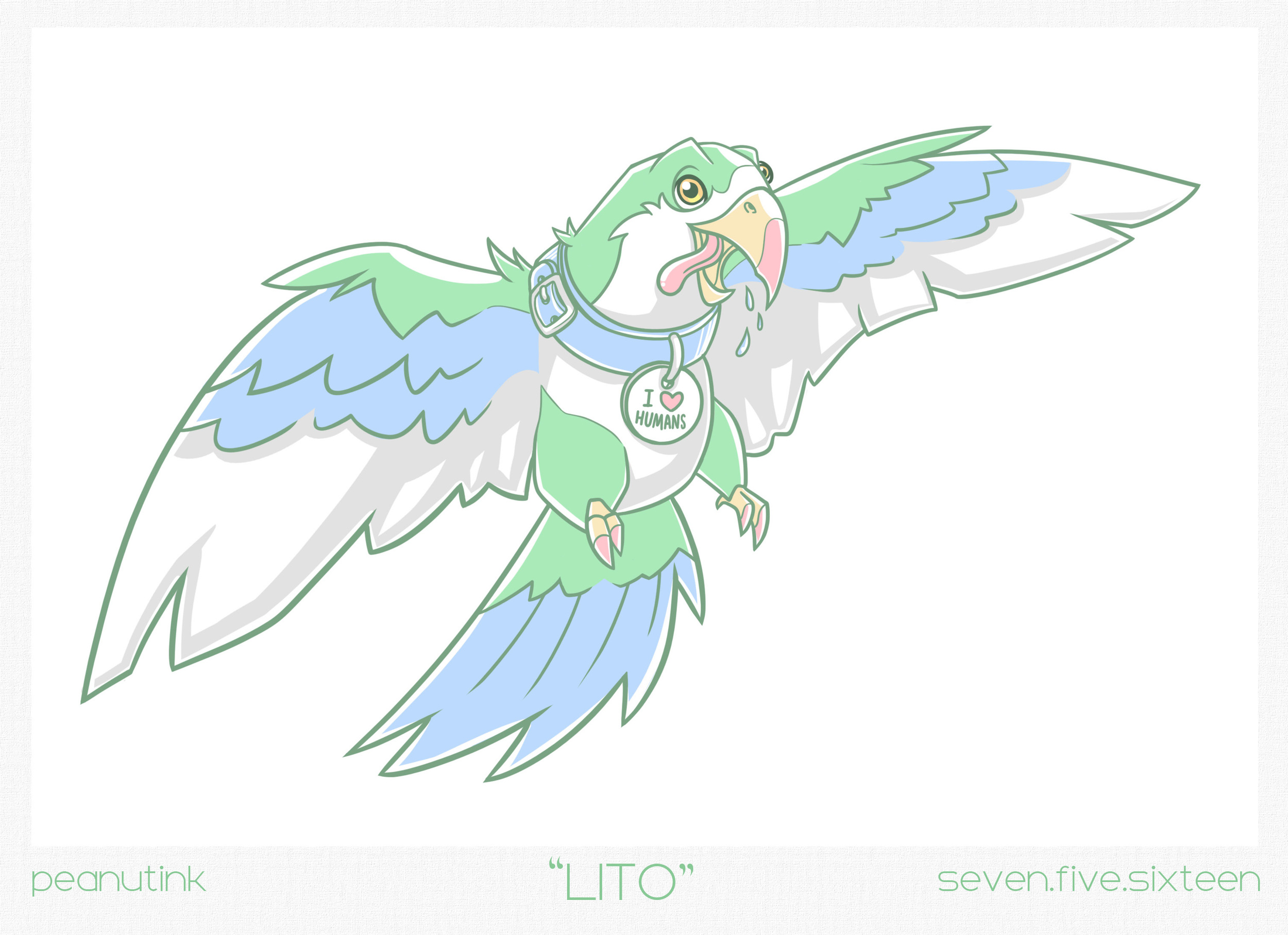 "..weekly ink #131 - ""Lito"".."