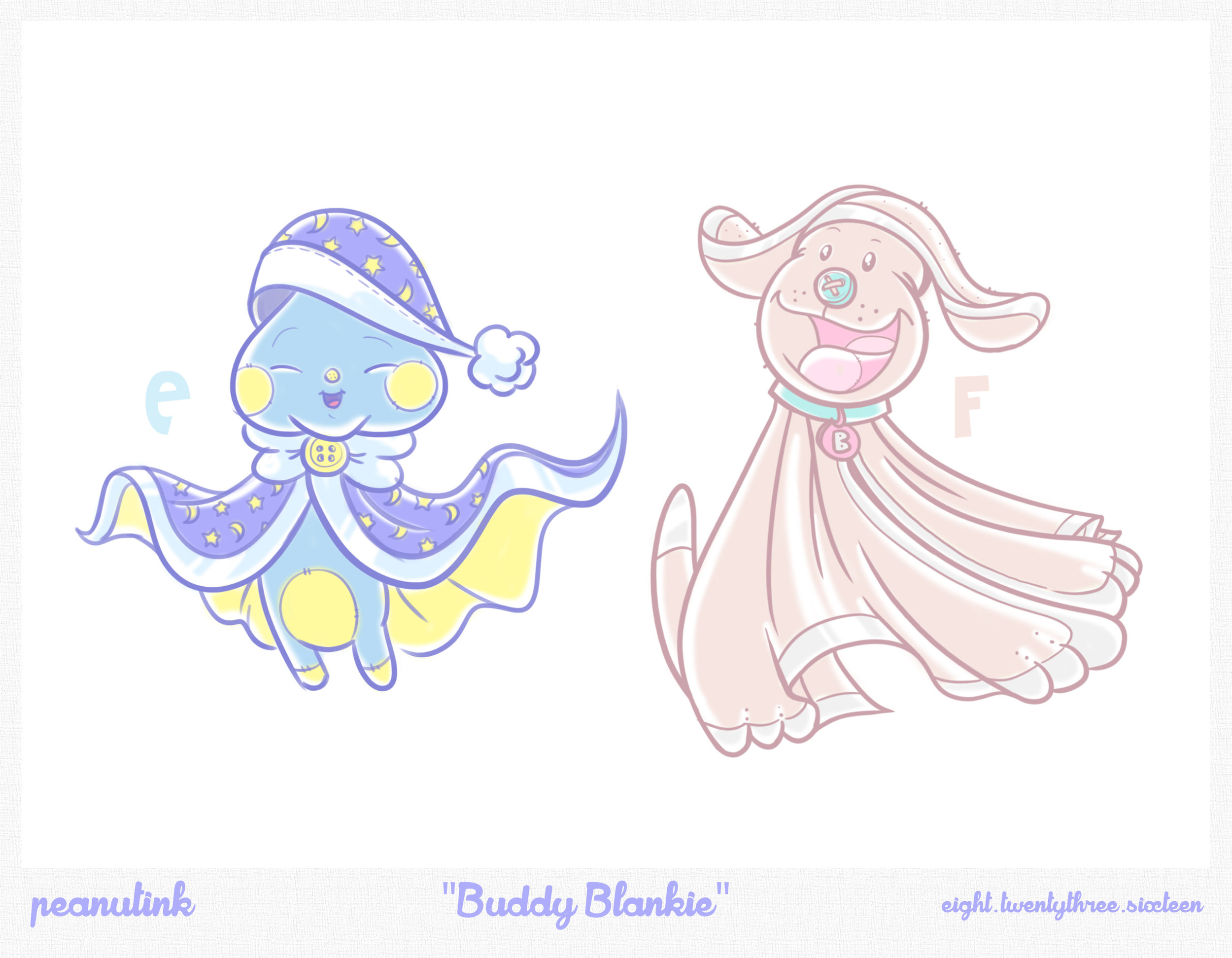 "..weekly ink #139 - ""Buddy Blankie"".."