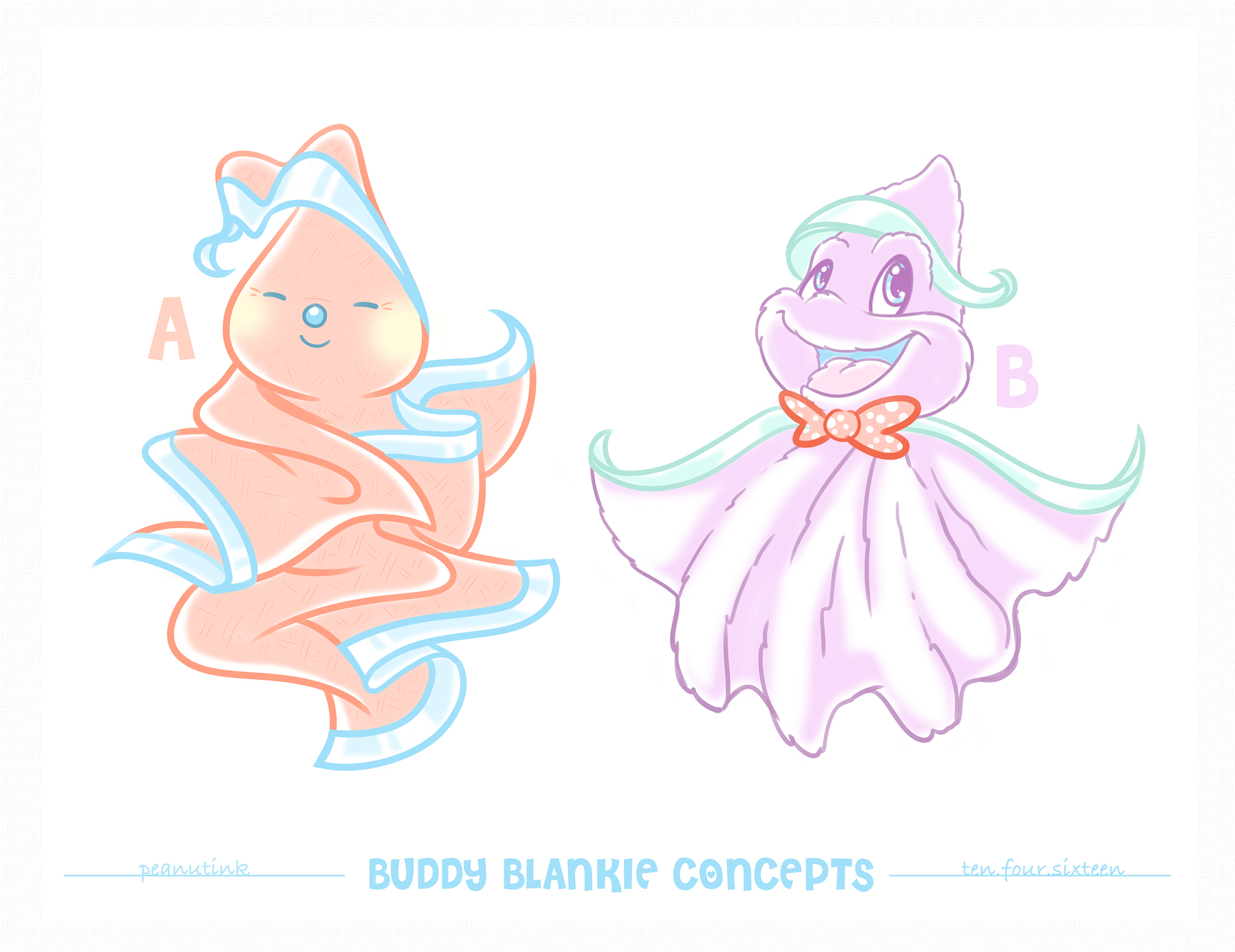 "..weekly ink #141 - ""buddy blankie concepts"".."