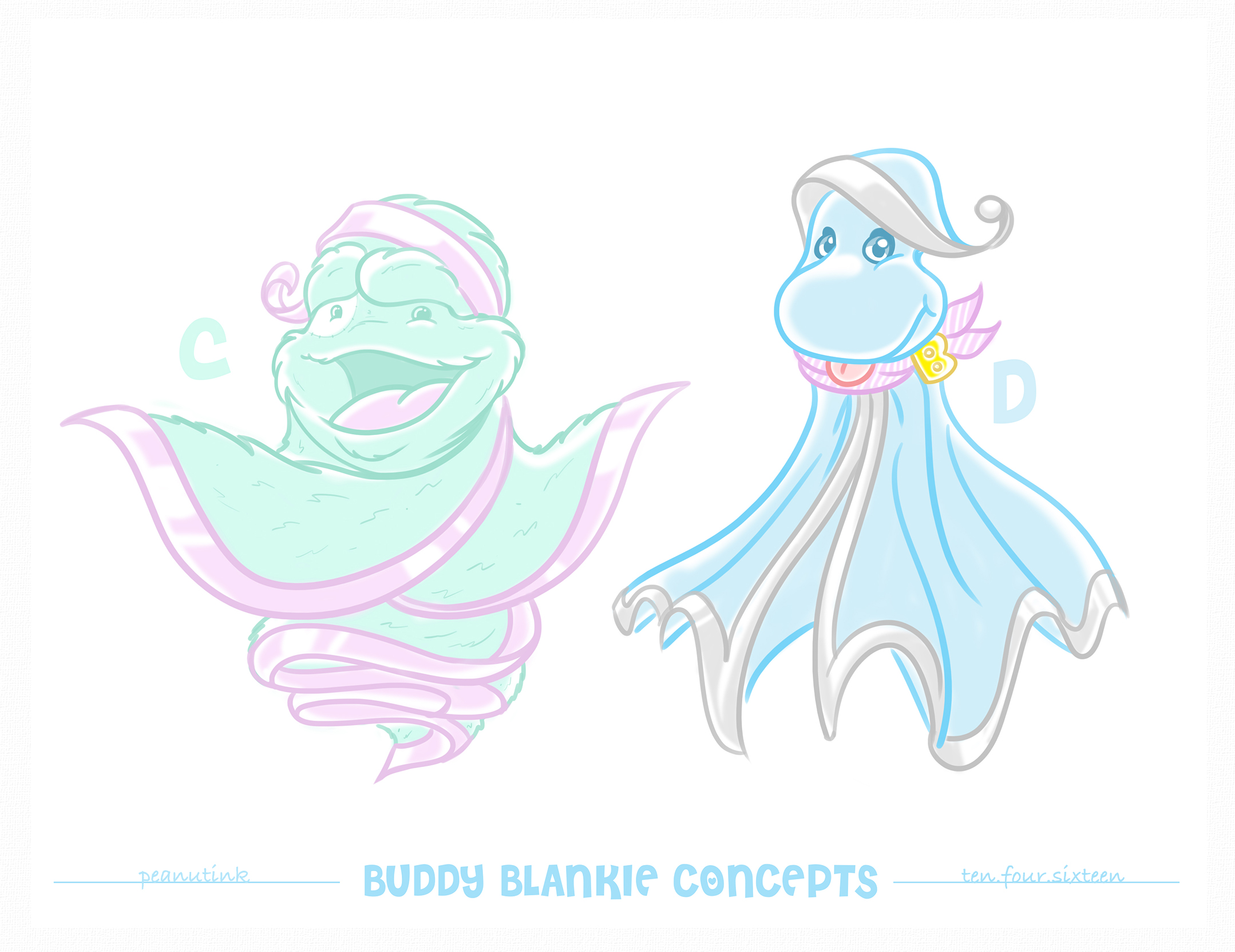 "..weekly ink #142 - ""buddy blankie concepts"".."