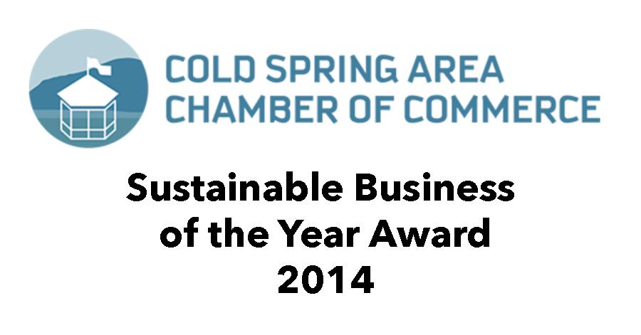 Cold Spring Chamber of Commerce award.jpg