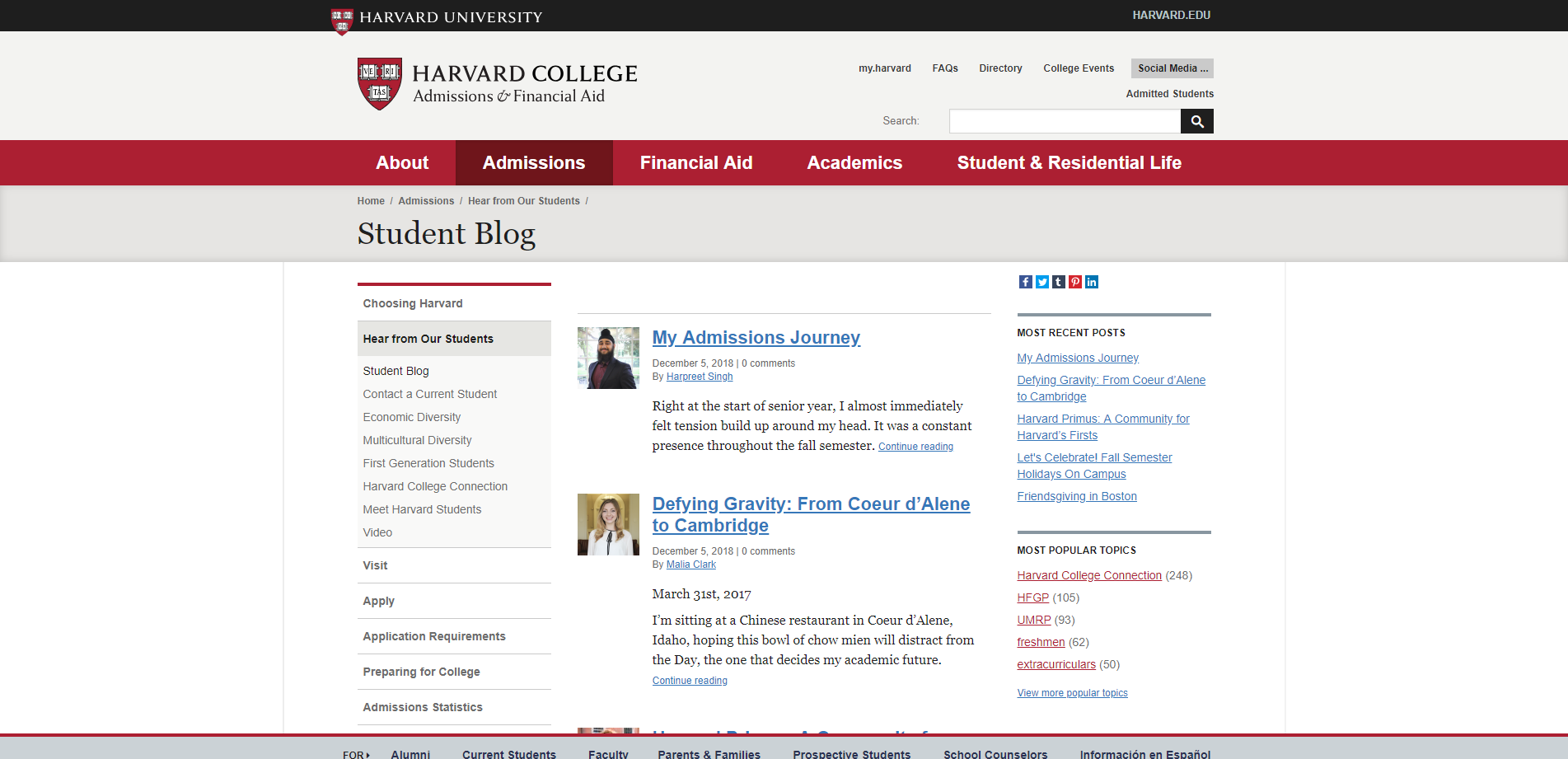 Student Blog   Harvard College.png