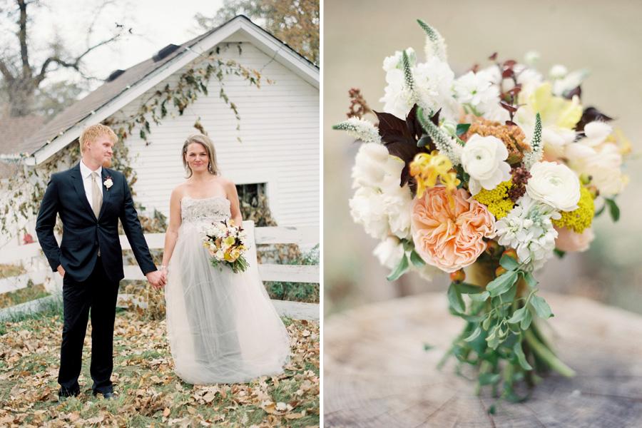 peach garden bouquet hope glen farm studio fleurette