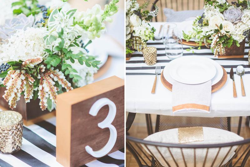 mecury glass wedding, herb centerpieces, green organic wedding flowers, studio fleurette.jpg