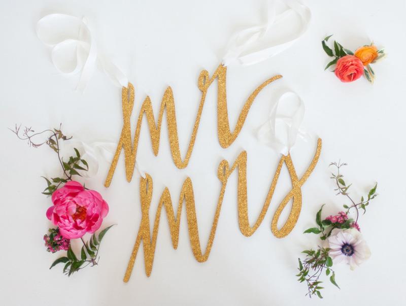 wedding chair signs, studio fleurette, emily steffen, twin cities mn wedding