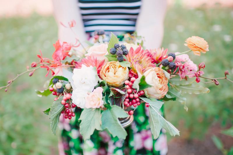 flowers and fruit, studio fleurette, minneapolis florist