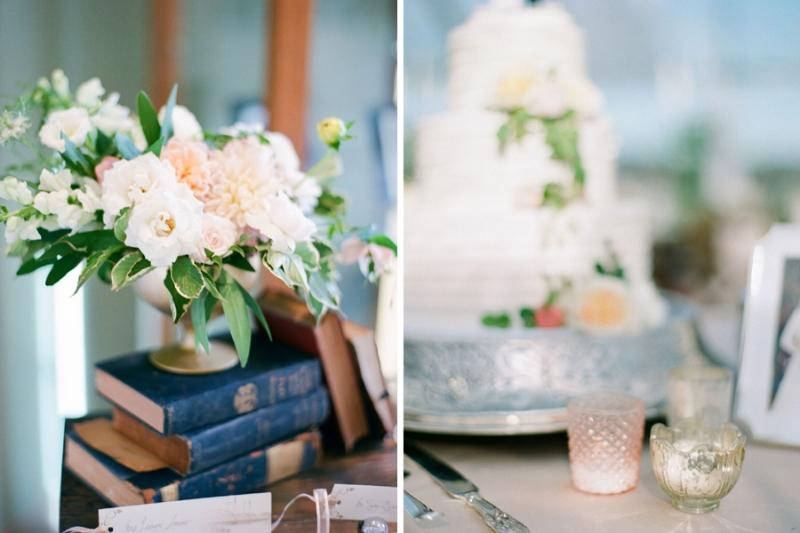 blush and gold wedding, mixed metals wedding, stillwater mn public library wedding, studio fleurette.jpg