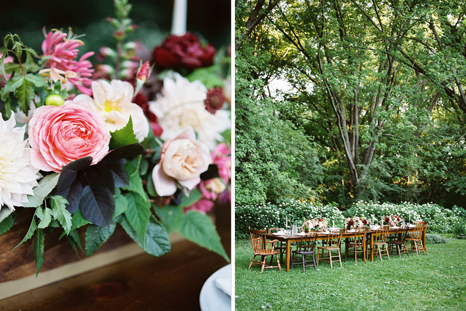 berry colored weddin flowers, studio fleurette, romantic antique garden rose, rustic wood box flowers, minneapolis florist.jpg