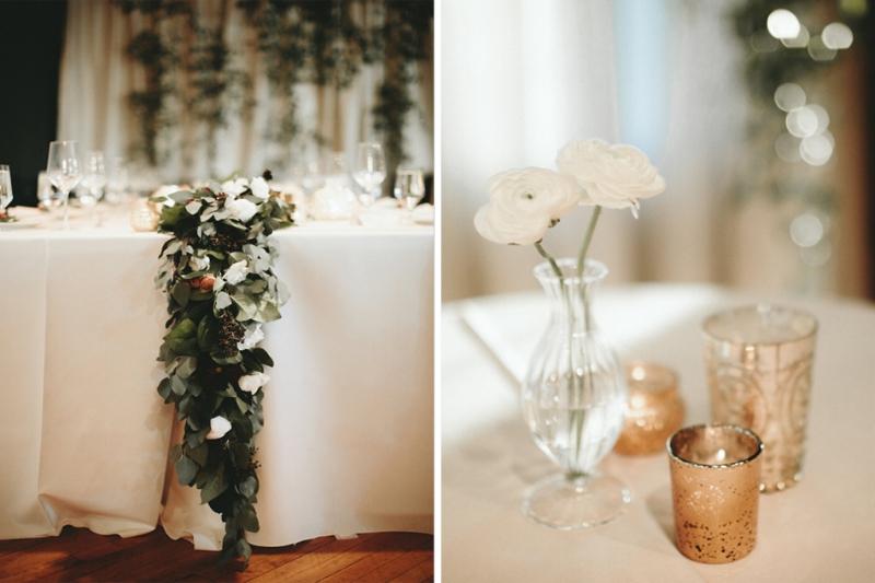 floral table runner, solar arts building minneapolis, gold votives, studio fleurette.jpg