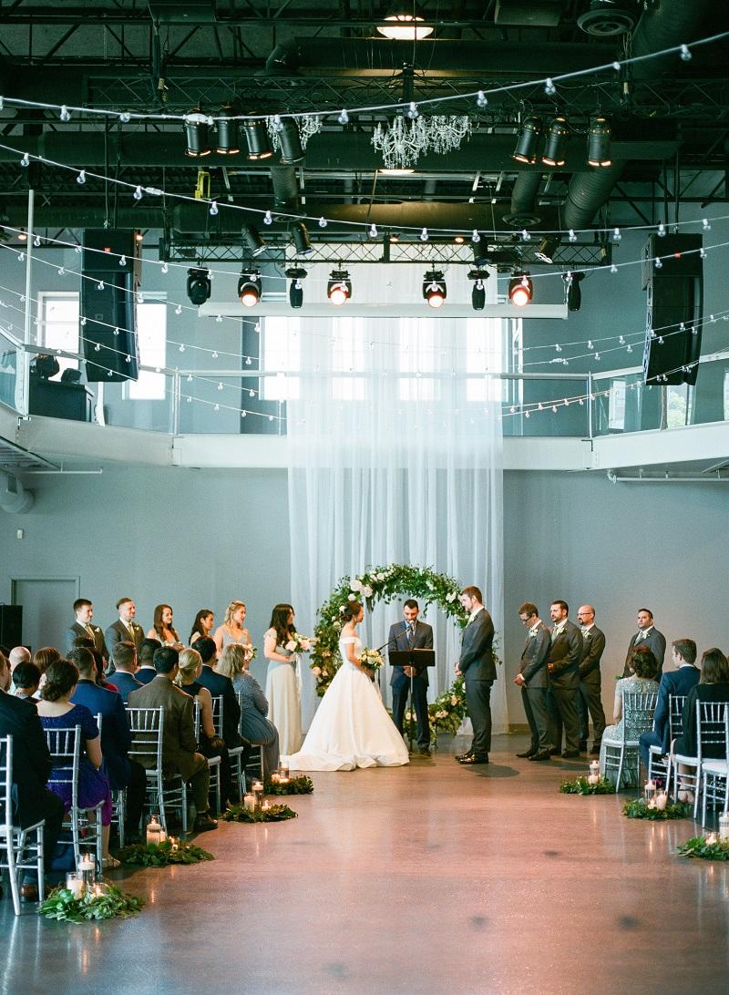 floral ring wedding ceremony flowers, wedding backdrop flowers, studio fleurette, muse event center.jpg