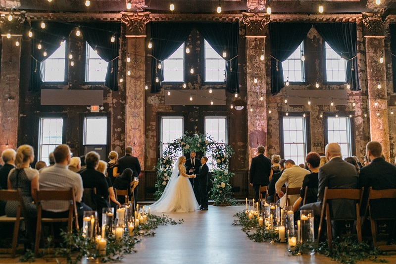 romantic wedding ceremony ideas, wedding aisle flowers, studio fleurette.jpg