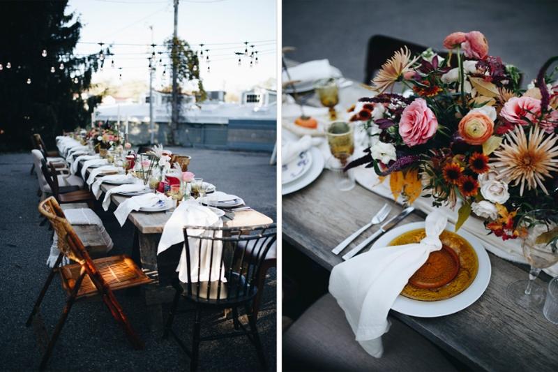 boho flowers, boho wedding flowers, fall floral centerpiece, studio fleurette