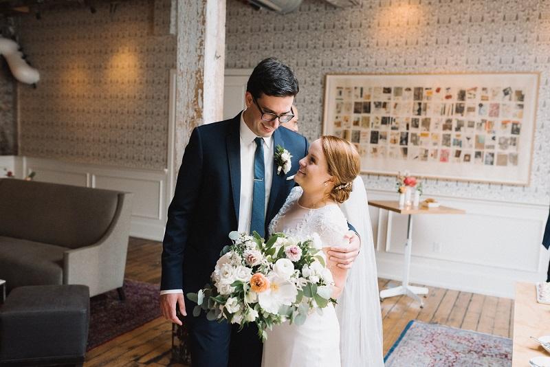 romantic bridal bouquet, the bachelor farmer wedding minneapolis, studio fleurette.jpg