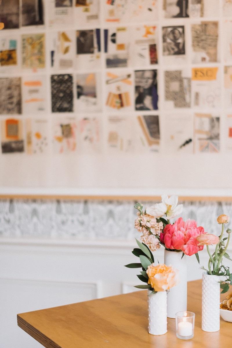 modern white bud vases, the bachelor farmer, studio fleurette.jpg