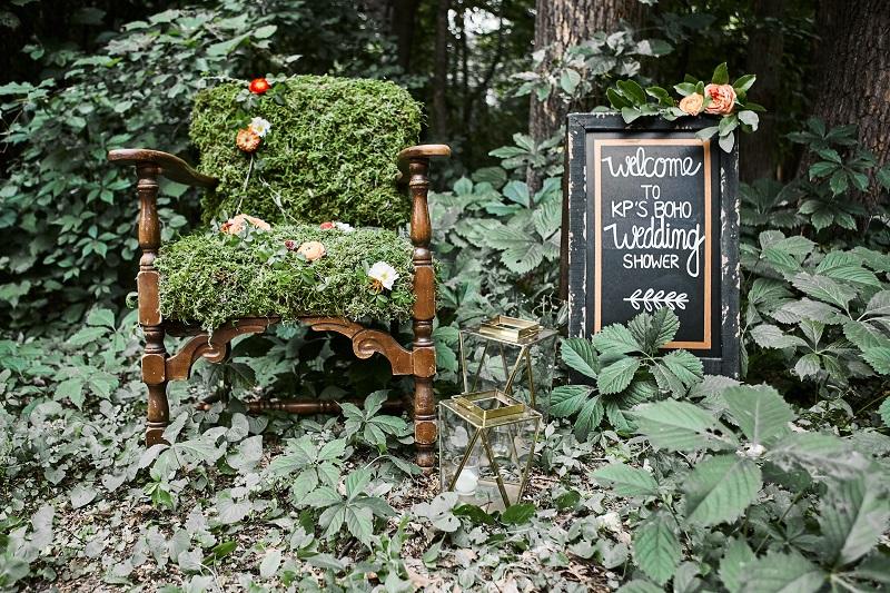 bohemian wedding shower ideas, studio fleurette, moss flower chair, minneapolis mn florist.jpg