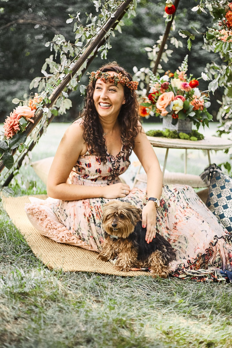 floral teepee, boho floral teepee, teepee wedding, studio fleurette, minneapolis florist.jpg