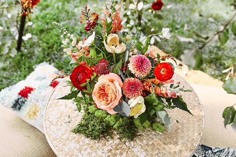colorful wedding floral centerpieces, stillwater mn wedding florist, studio fleurette.jpg