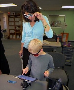Using Opto in a vision therapy clinic.
