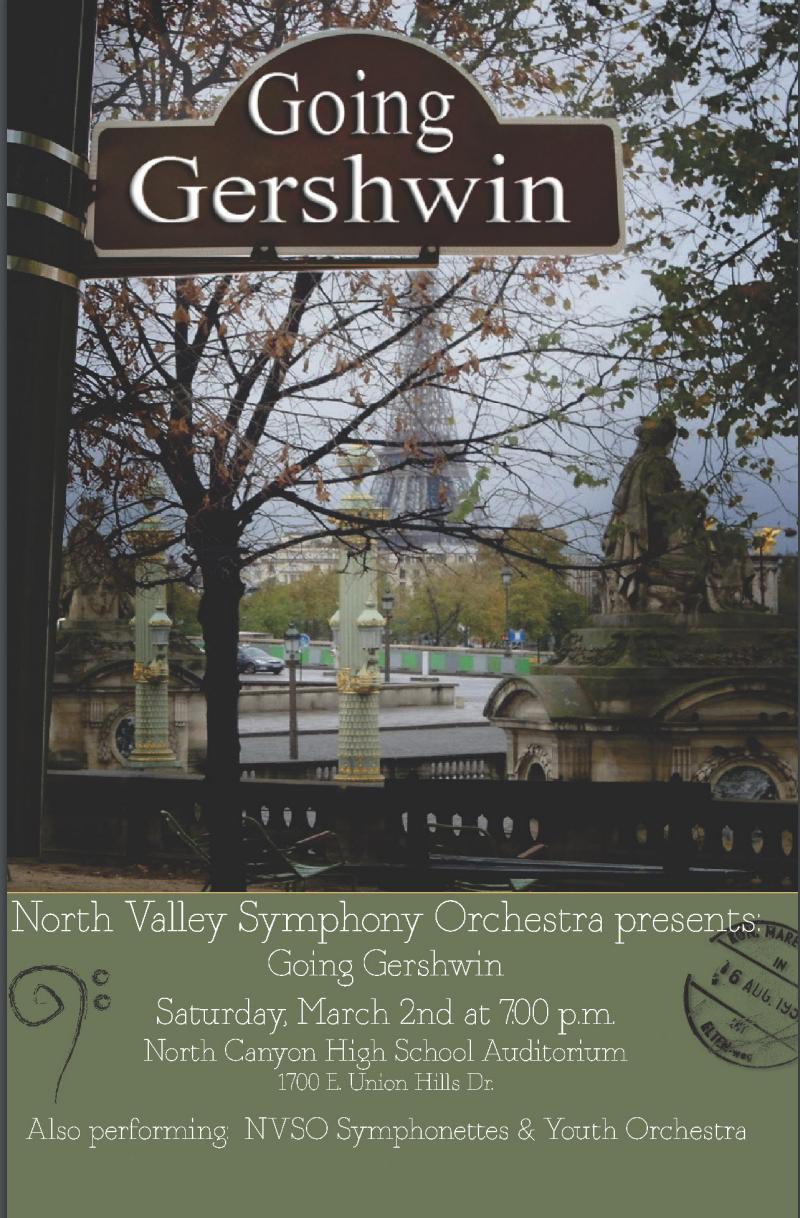Going Gershwin - March 2, 2013