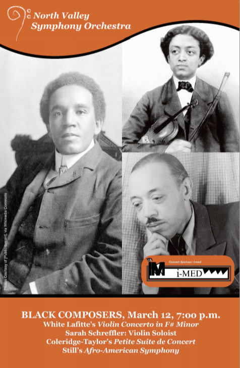Black Composers - March 12, 2016