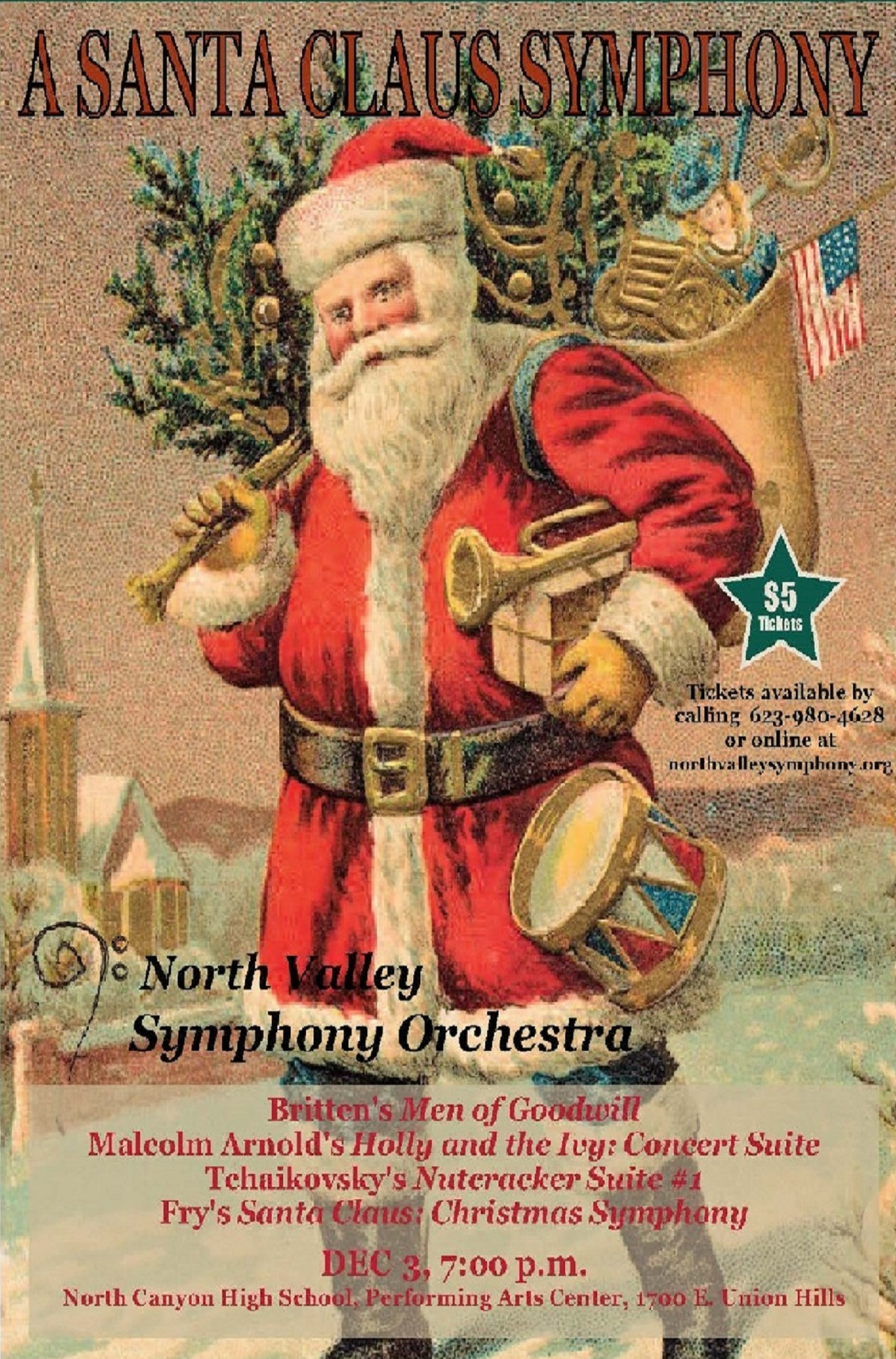 A Santa Claus Symphony December 3rd, 2016