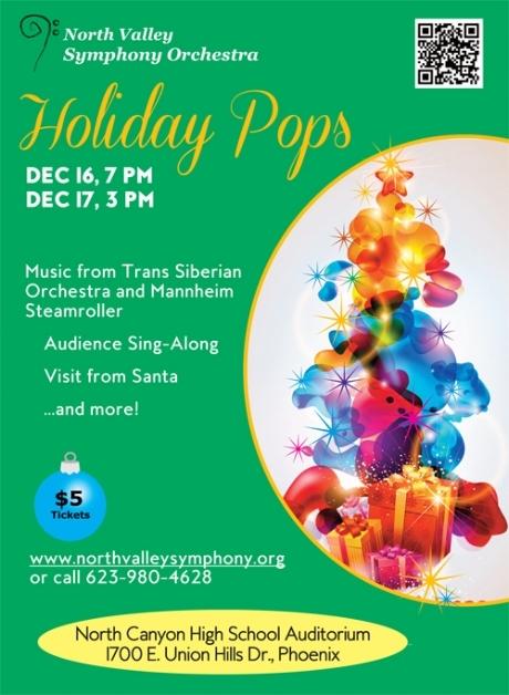 Holiday Pops  December 16 & 17 2017