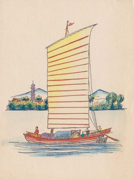 Another Melville Jacoby Christmas Card Exterior