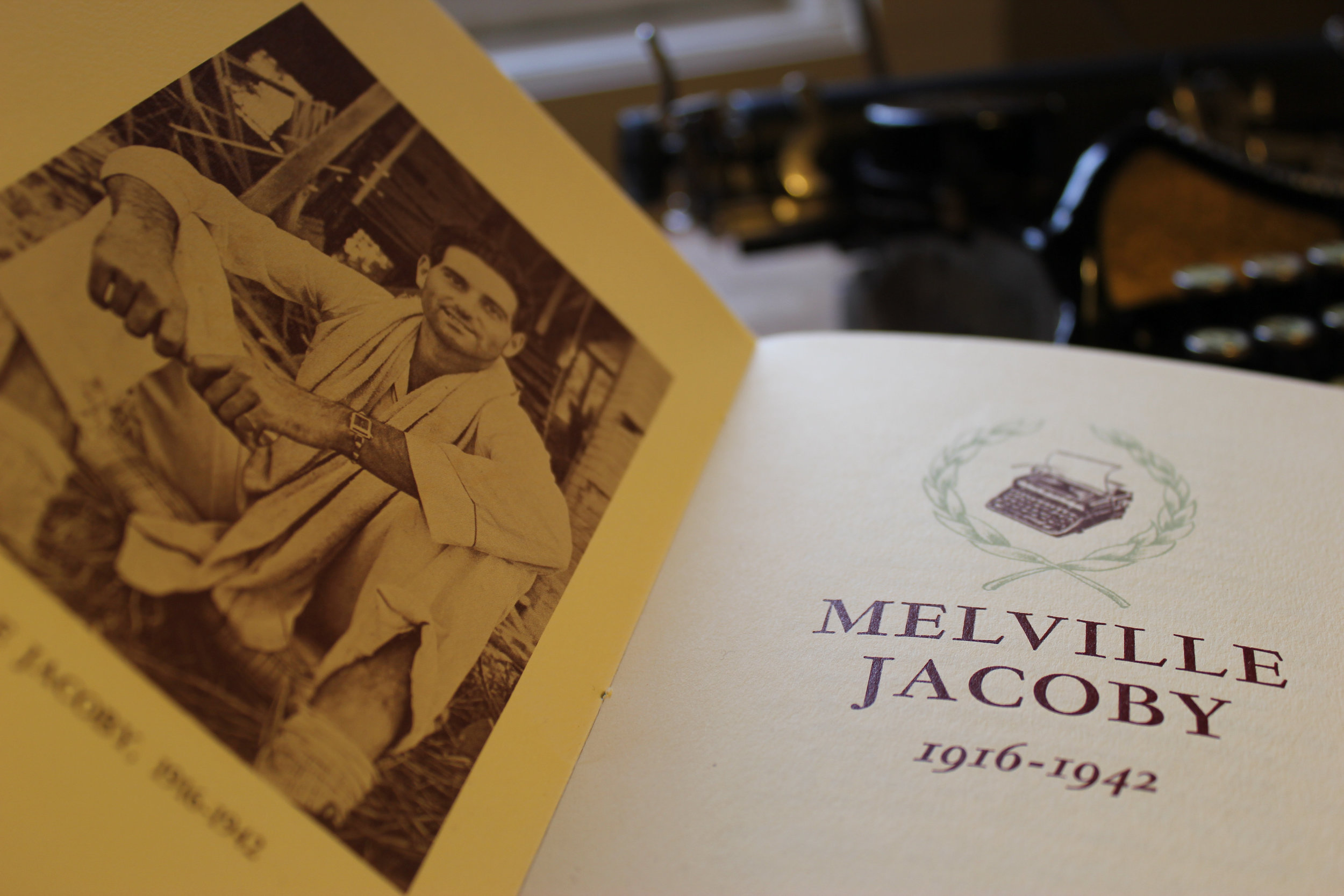 Time  Far East Bureau Chief Melville Jacoby as depicted in a 1942 memorial book. ( Photo by Bill Lascher  )