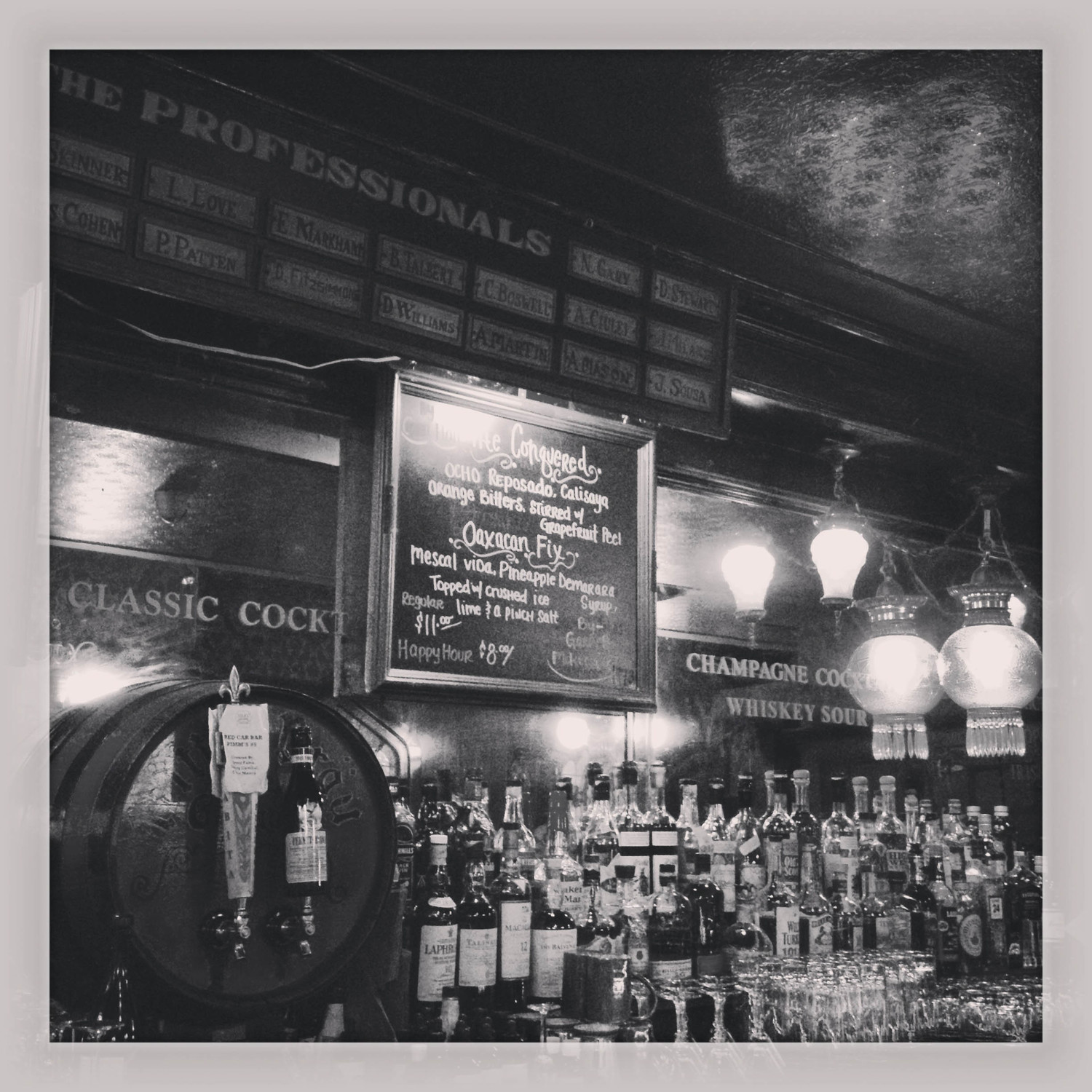 Cole's. Order the Whiskey Sour. ( Photo by Bill Lascher )