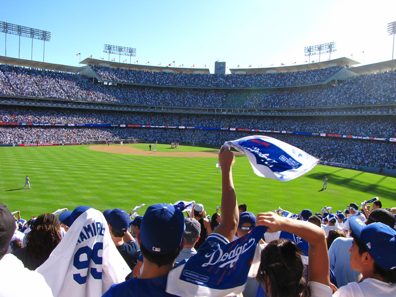Dodger Stadium. ( photo by Bill Lascher )