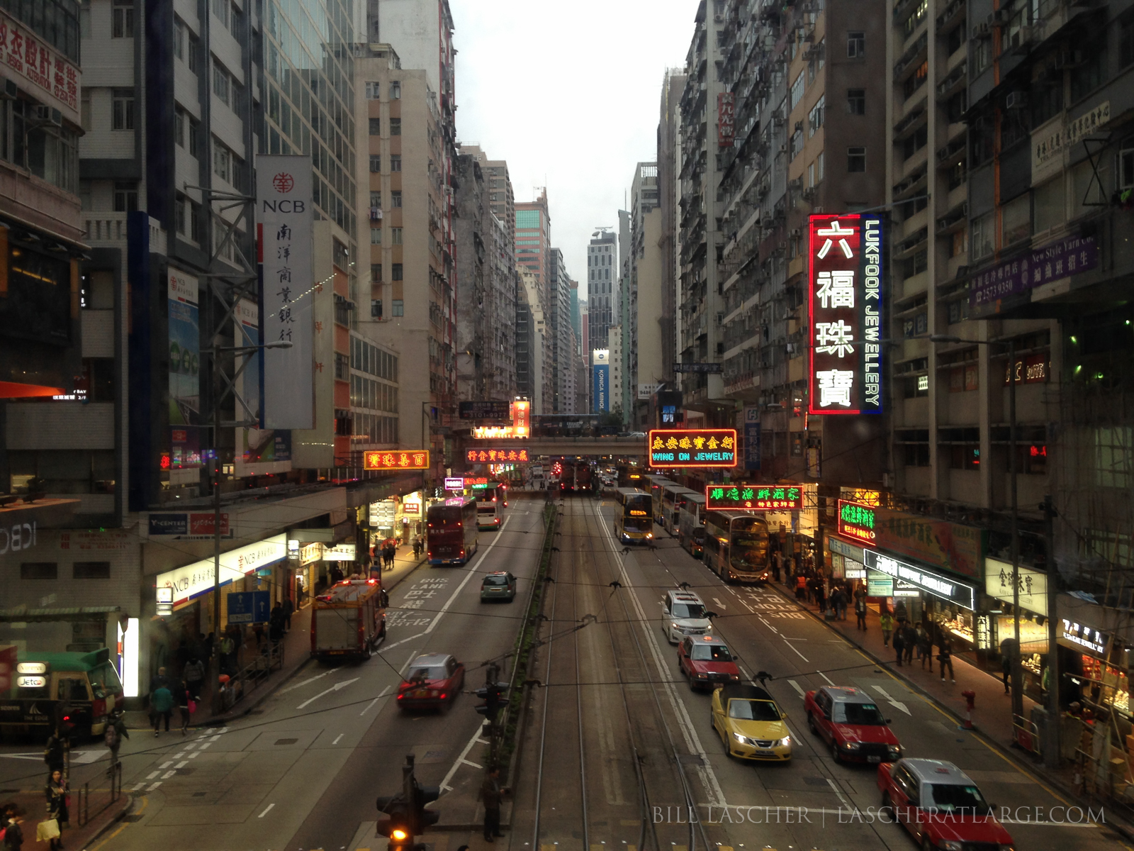 Hong Kong Streetscape