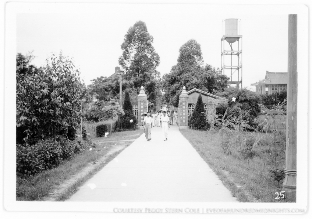 Lingnan Walkway with Students in Distance.jpg