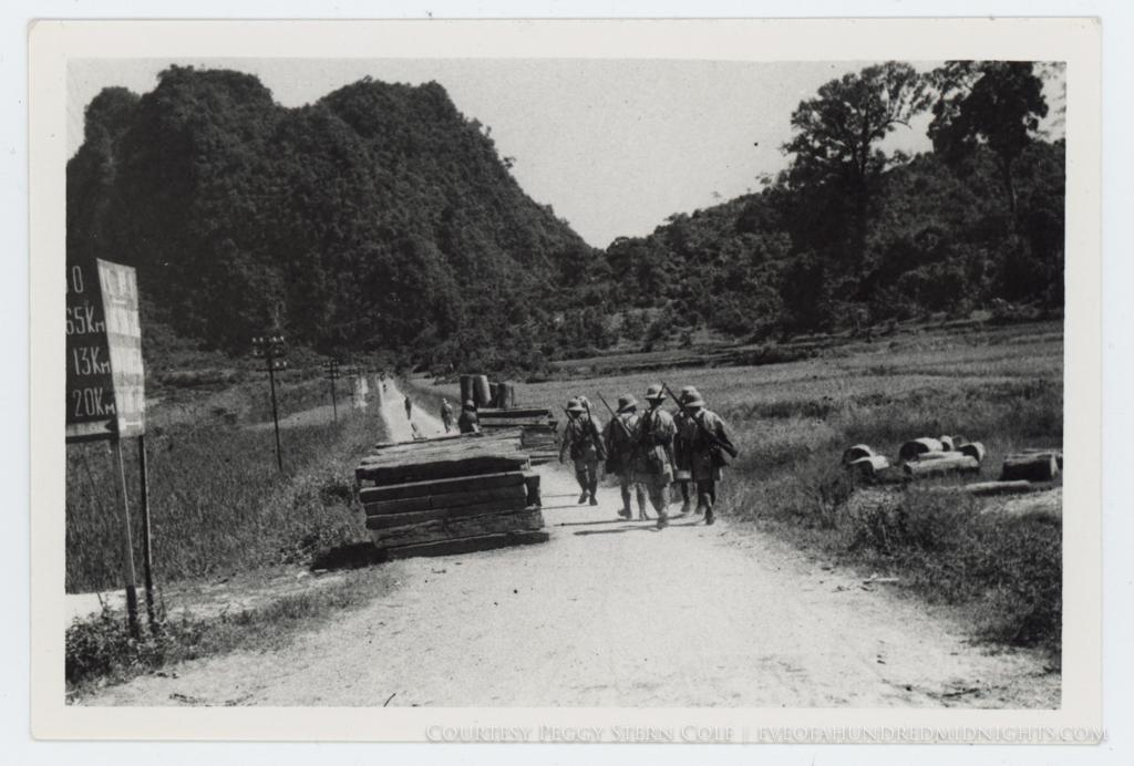 Soldiers Walking on Indochina Road.jpg