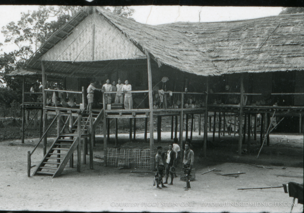 Stilt House from Negative in unknown place [likely indochina].jpg