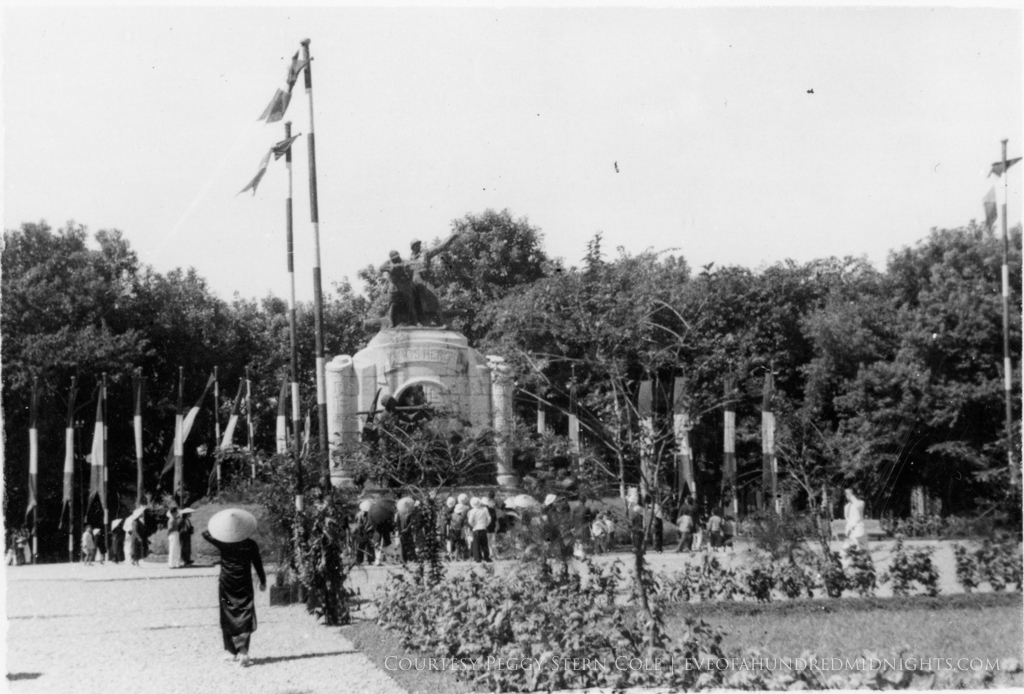 Unknown Soldier Memorial in Indochina From Larger Print.jpg