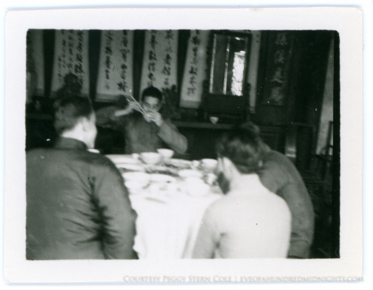 Melville Jacoby Eating in China
