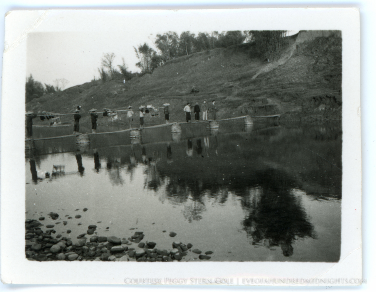 Mel and Friends Crossing Chan Ka Yik Pond.jpg
