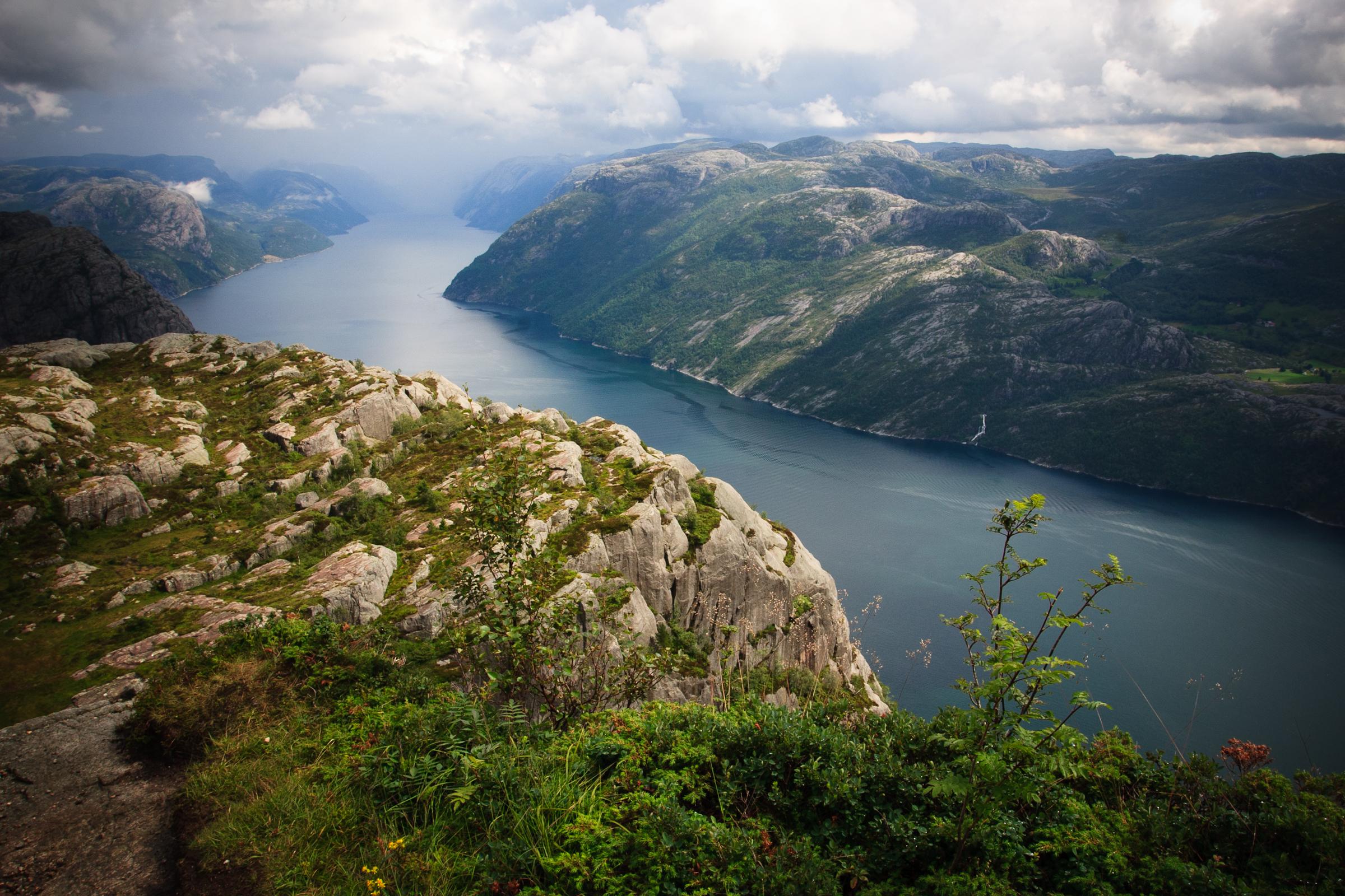 Lysefjorden, Norway 2009.