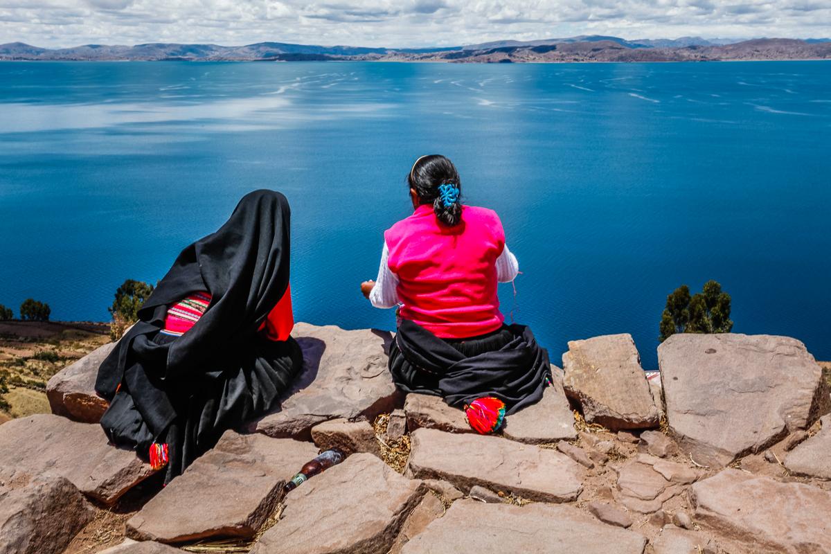 Taquile Island, Lake Titicaca, Peru 2010.